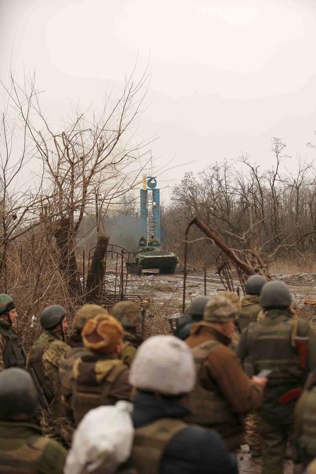 бої 29 січня 2017 року під Авдіївкою