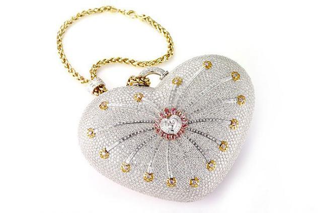 Дамская вечерняя сумка 1001 Nights от дизайнерского ателье Паскаля Муавада. самая дорогая сумка