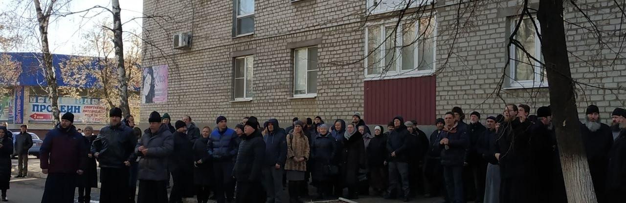 Московский Патриархат пел под Славянским отделом полиции
