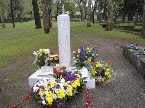 Пам'ятник Героям Небесної сотні у Португалії