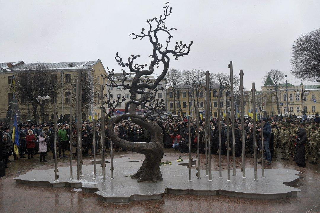 Пам'ятник Героям Небесної сотні – «Дерево Свободи» у Вінниці