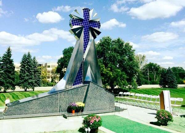 Пам'ятник Небесній сотні у м. Блумінґдейл, поблизу Чикаго