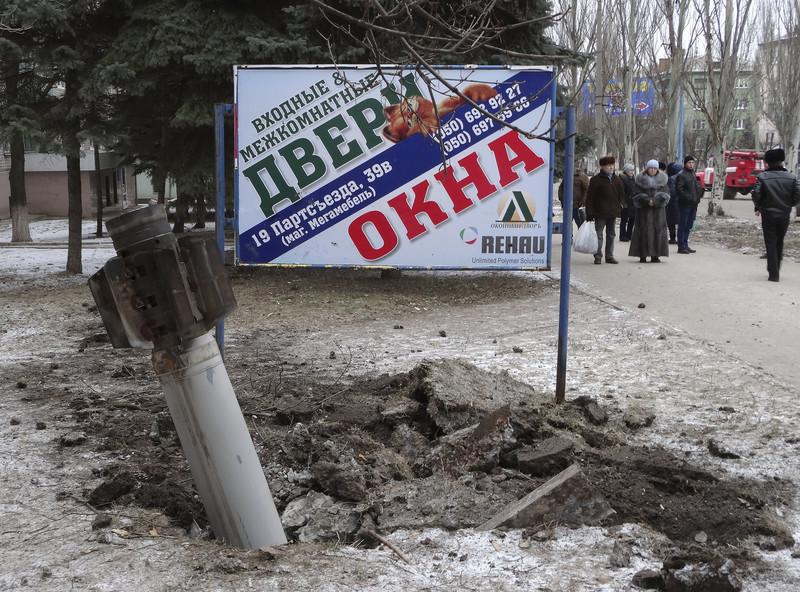 обстріл краматорська 2015