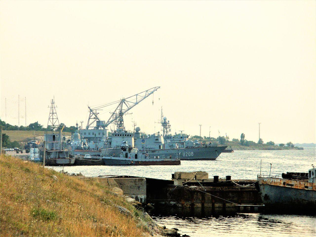 захоплення росіянами українського тральщика «Черкаси»