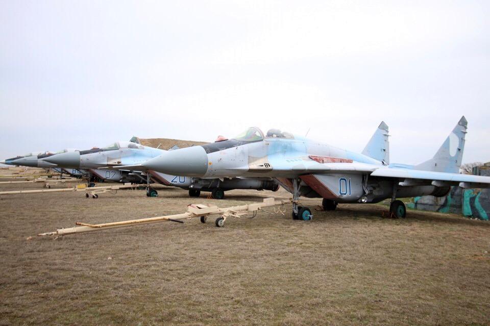 Винищувачі МіГ-29 204-ї бригади тактичної авіації. Крим, 2018 рік