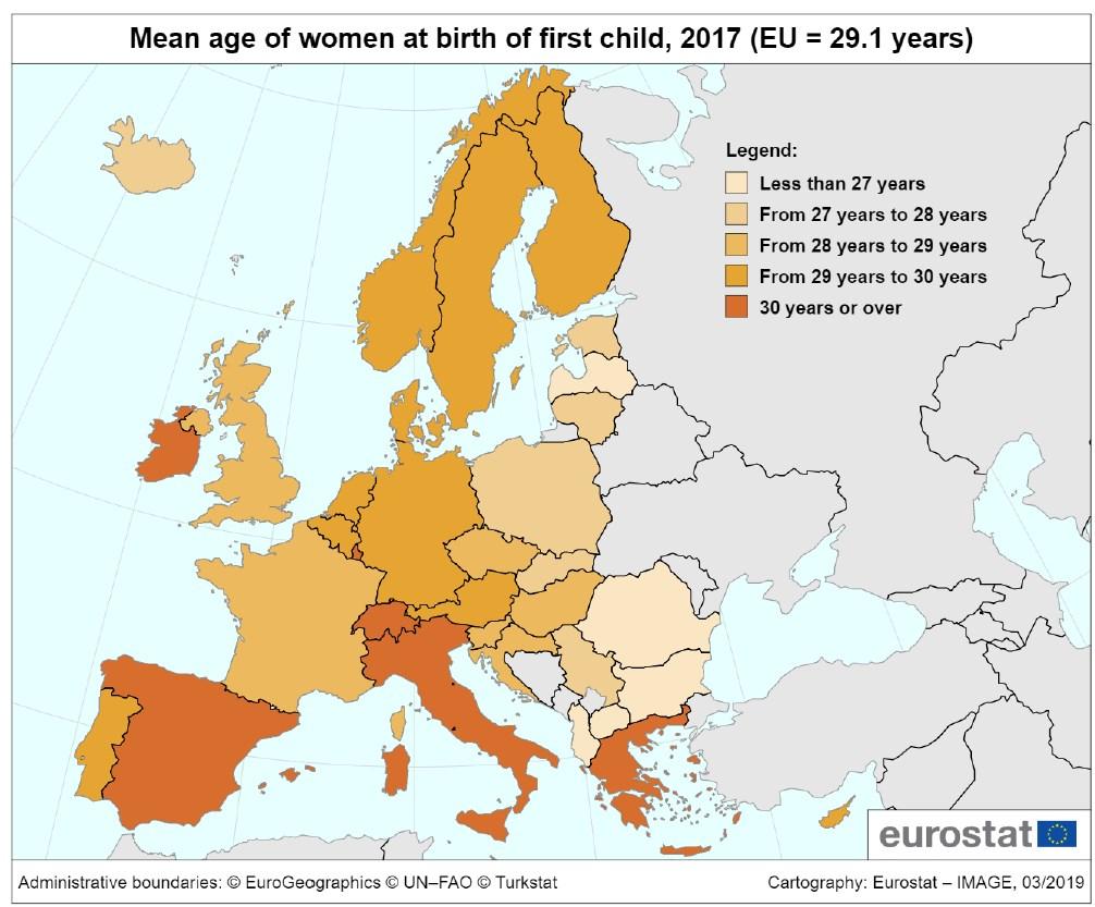 народжуваність в ЄС