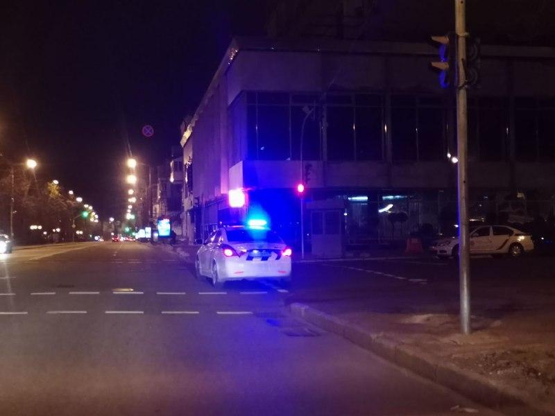 поліція перекрила вулиці навколо Адміністрації президента