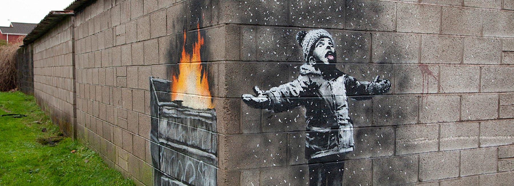 Banksy в Південному Уельсі