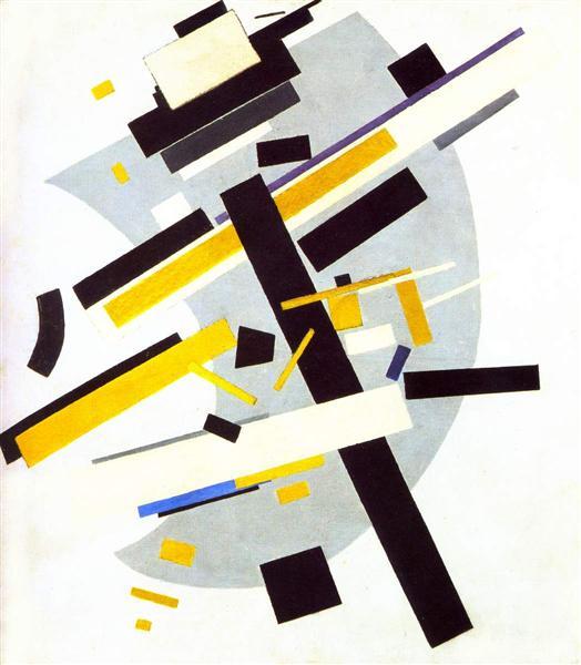 Suprematism / 1916 / Казимир Малевич
