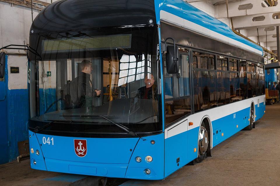 Тролейбус Вінниця