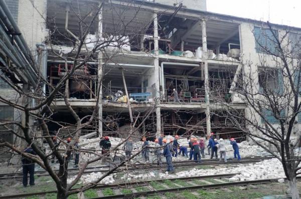 вибух Лисичанськ