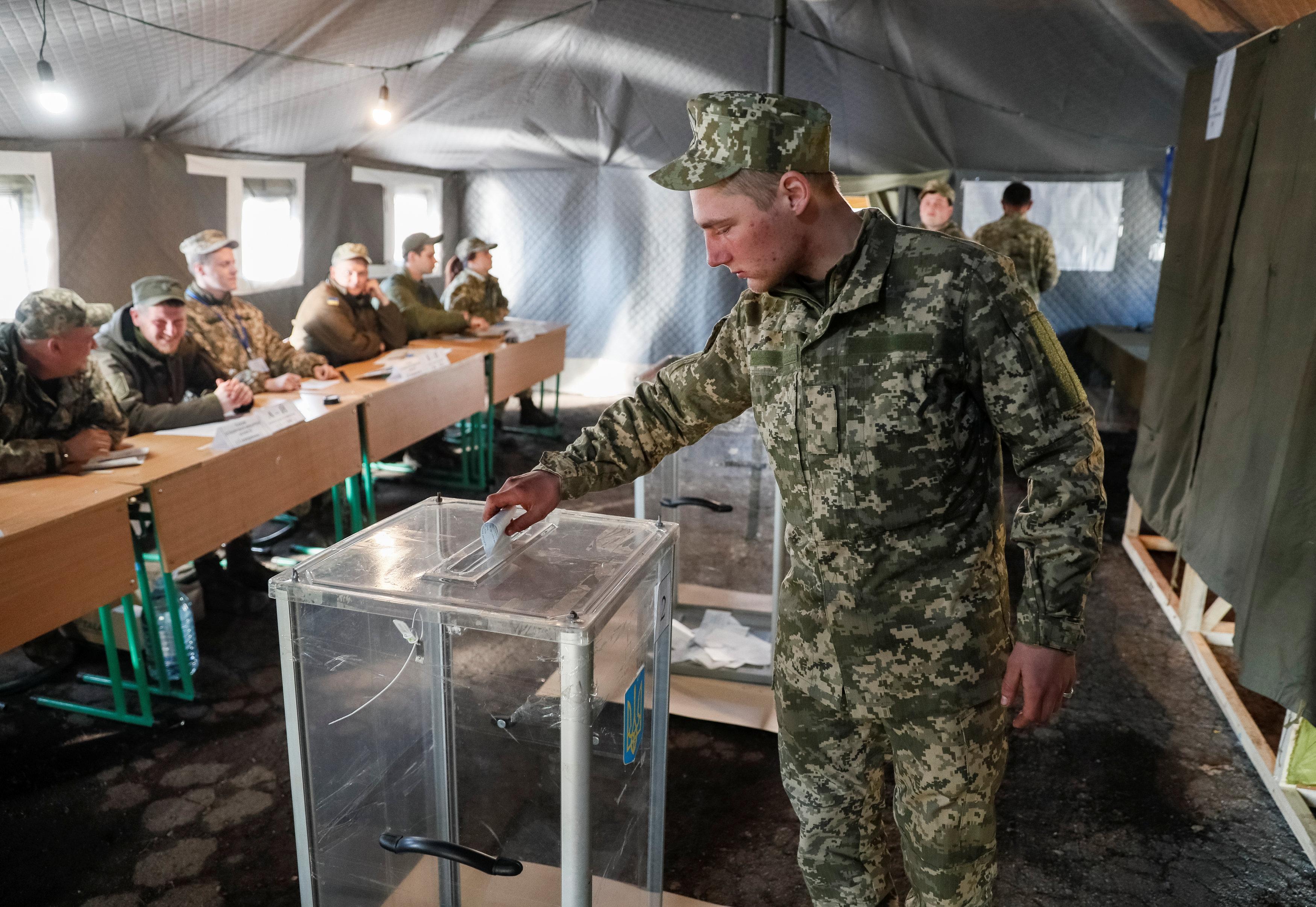 вибори військові