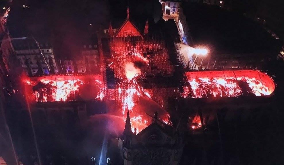 Пожежа у Нотр-Дамі