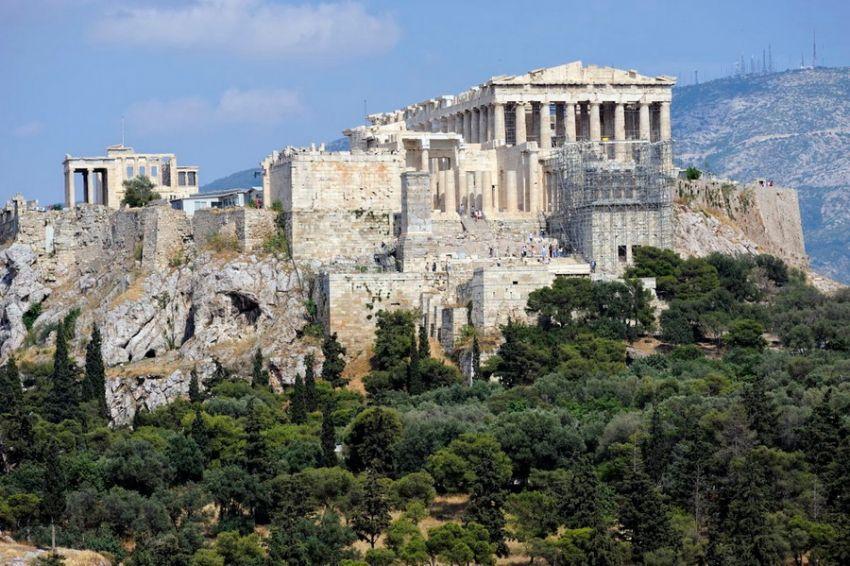 акрополь афіни греція