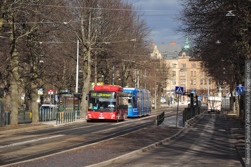 громадський транспорт стокгольм