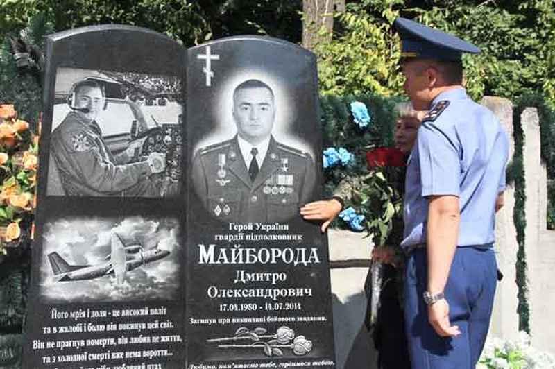 Майор Дмитро Майборода