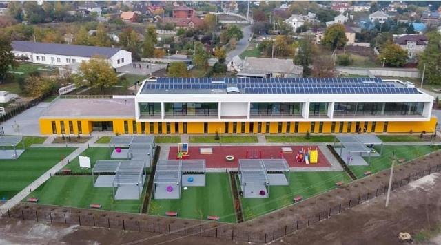 енергоефективноий дитсадок в Обухівці