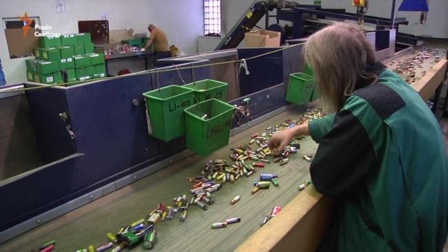 Батарейки переробка