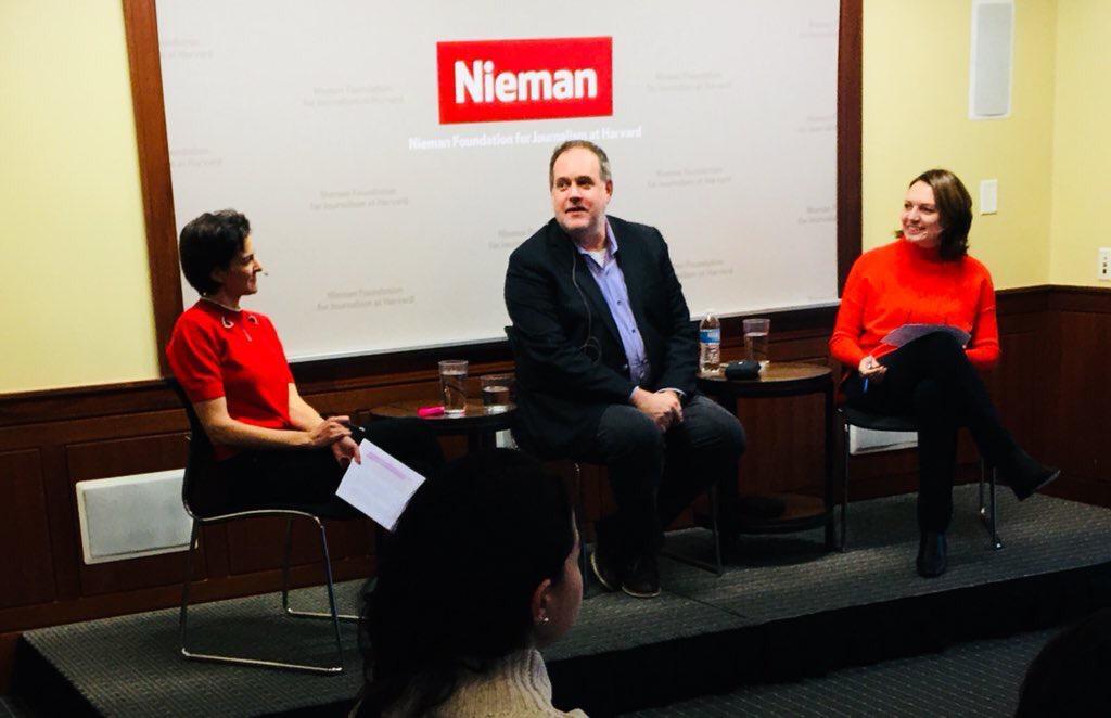 Дискусія про майбутнє журналістики та активізму у Nieman.