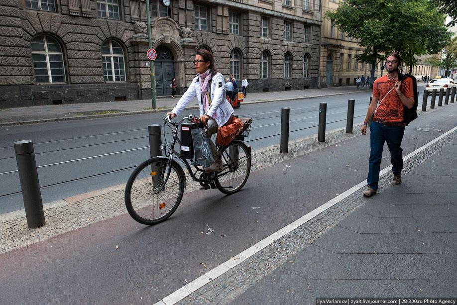 велодорожка берлин