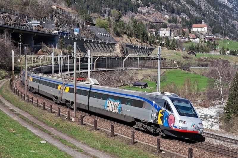 железная дорога германия