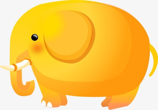 жёлтый слон