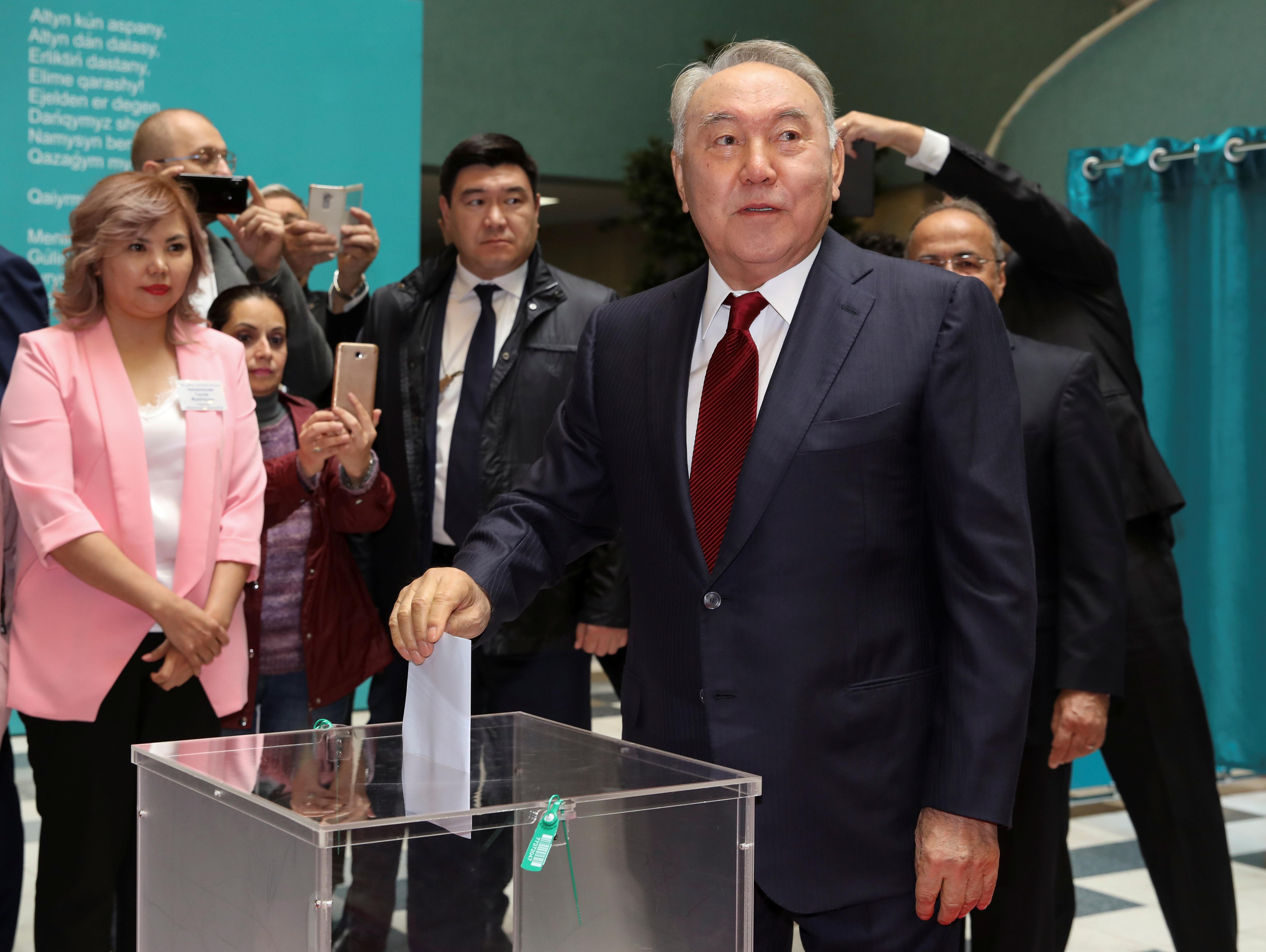 Назарбаєв вибори