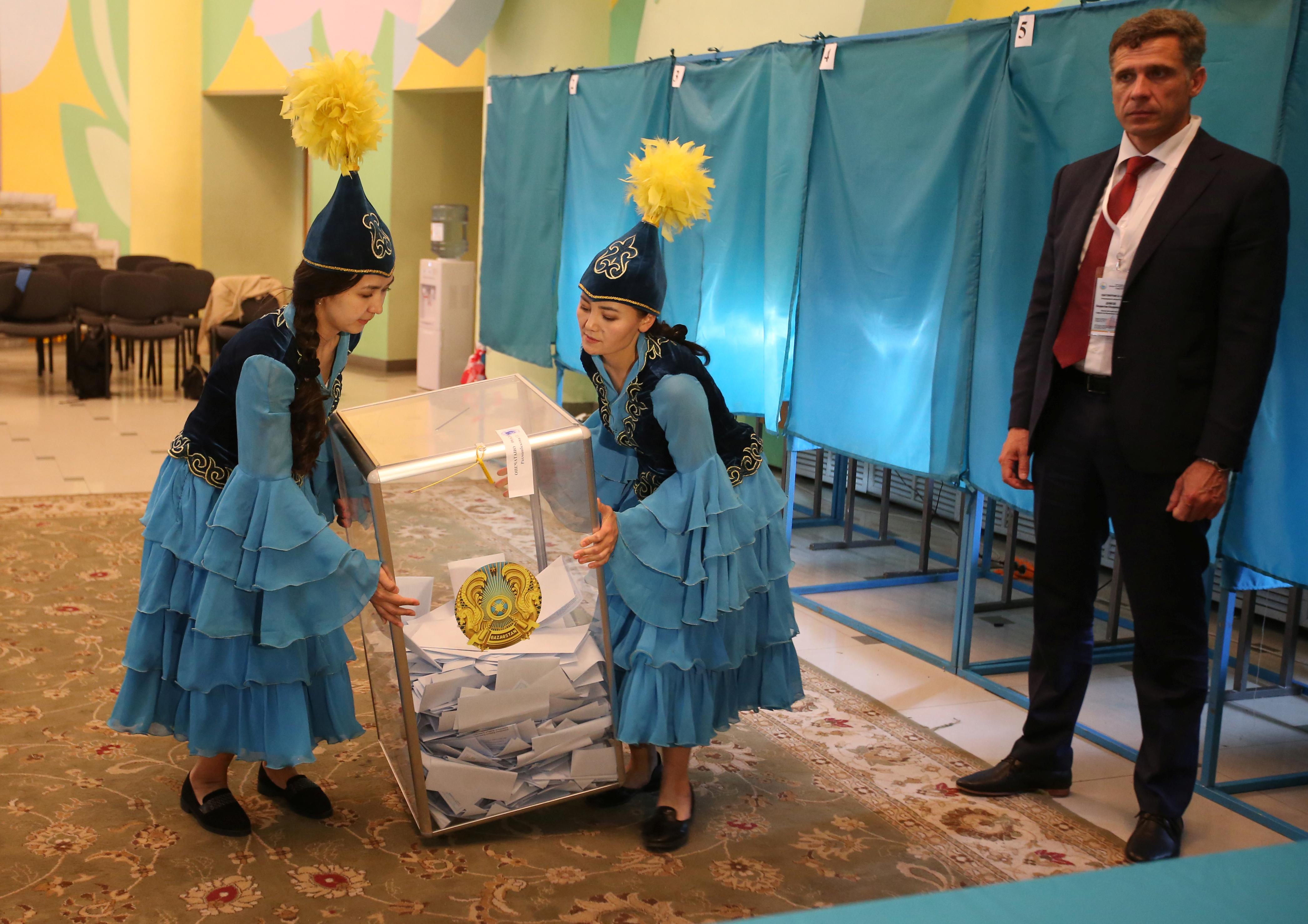 вибори Казахстан