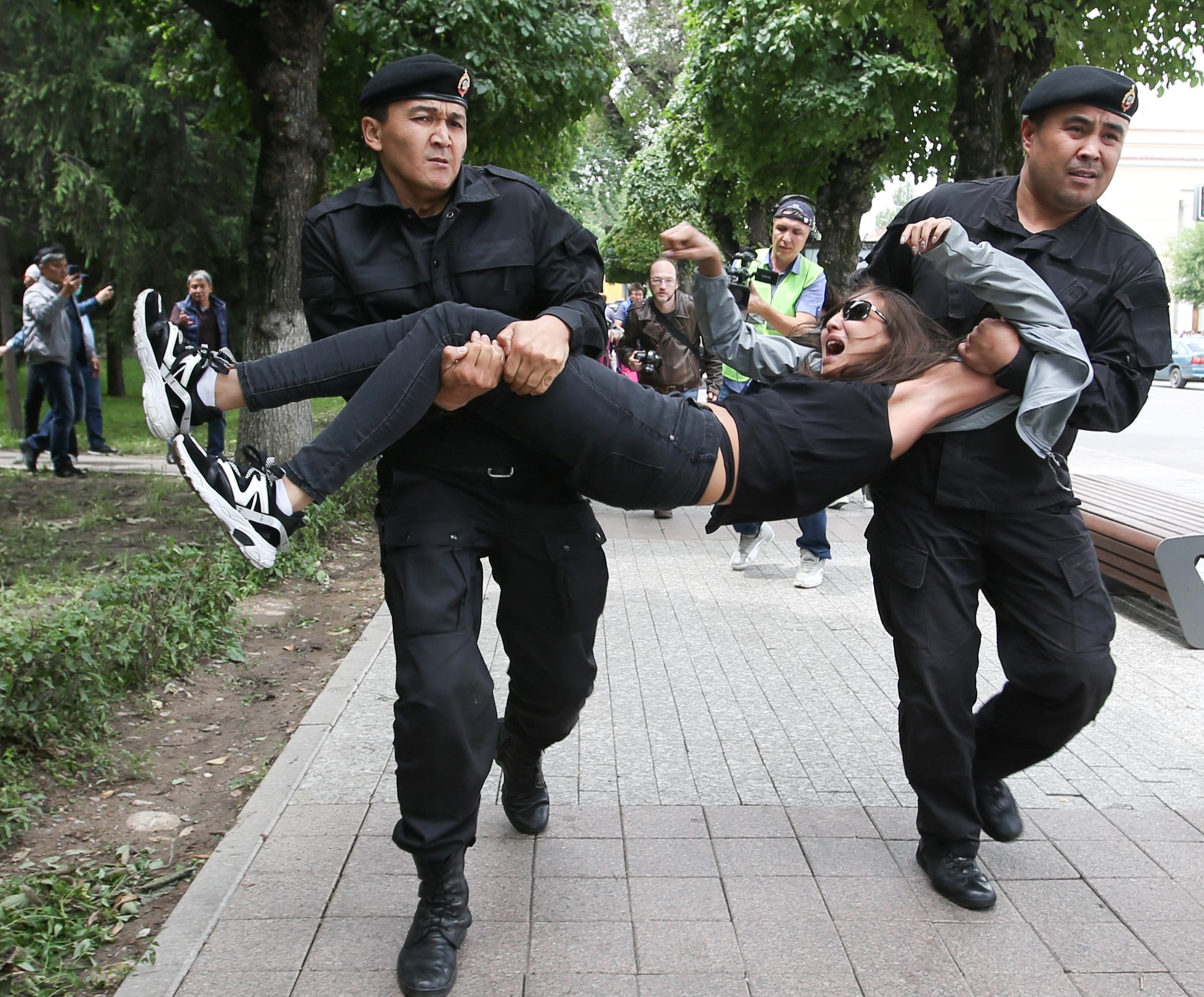 Казахстан протести