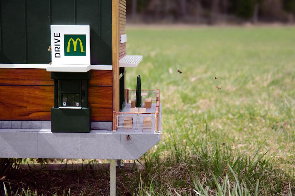 У Швеції відкрили найменший у світі McDonald's