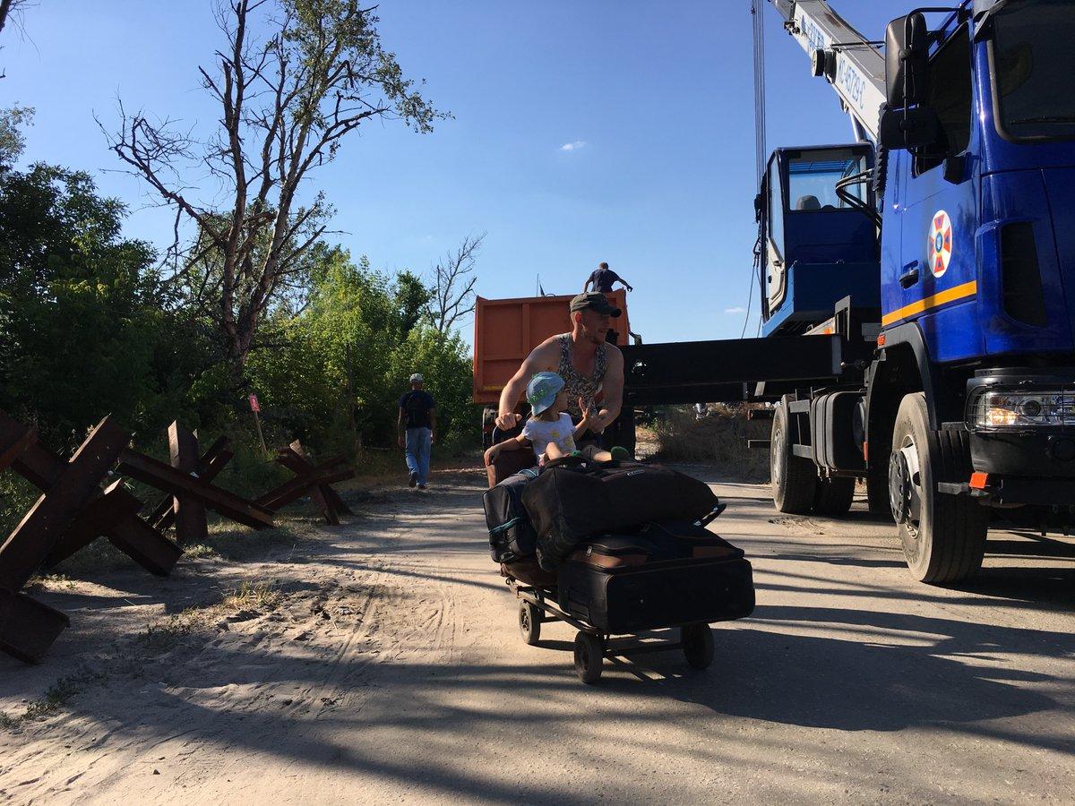 Розмежування Станиця Луганська