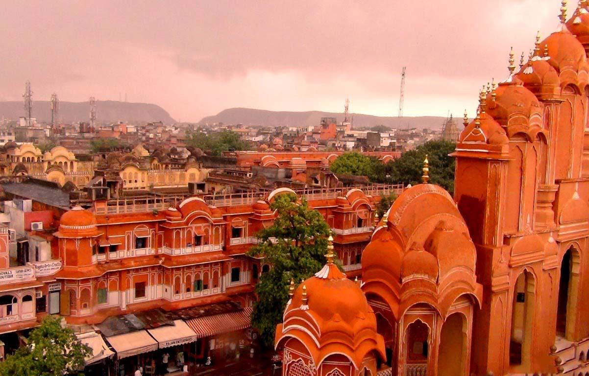 Город Джайпур, Раджастхан (Индия).