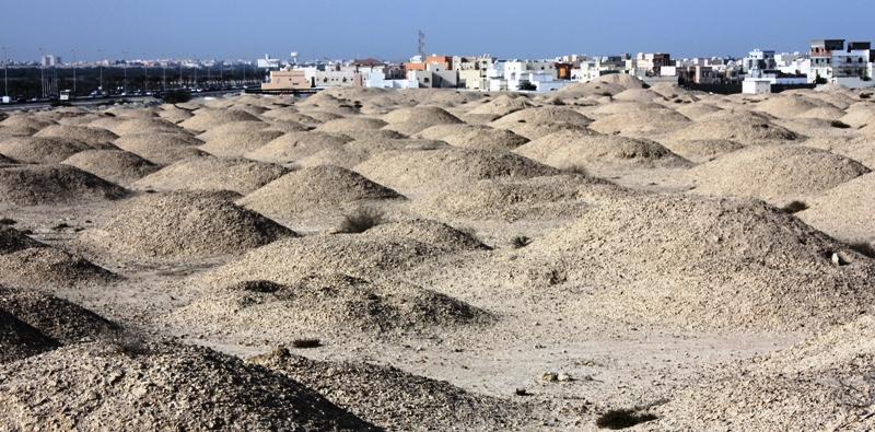 Могильные курганы Дильмуна (Бахрейн)