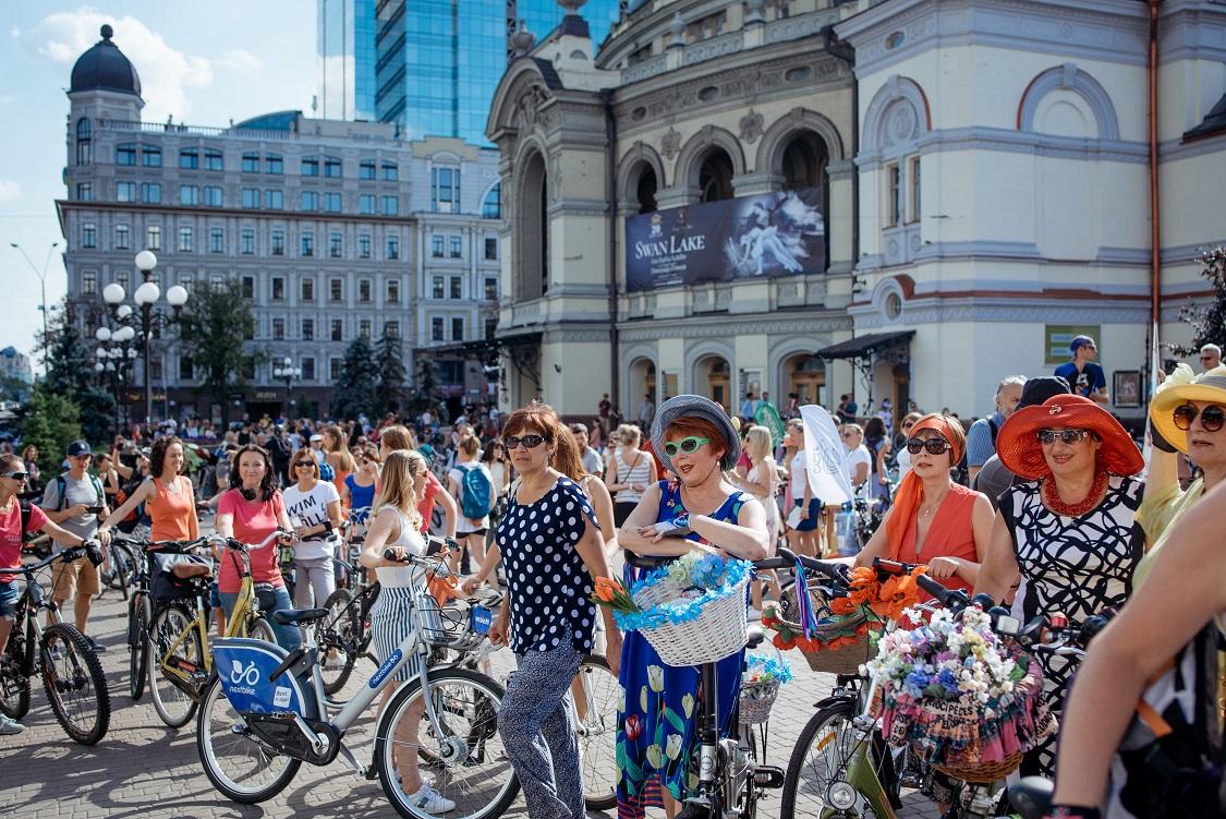 Велопарад дівчат 2019