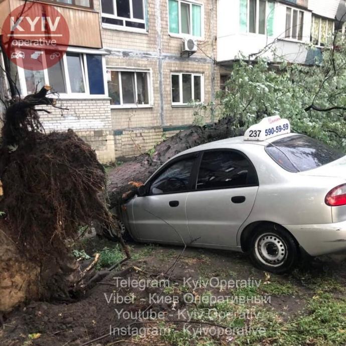 Київ злива негода