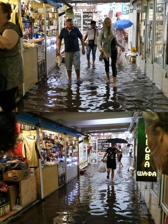 затопило підземні переходи