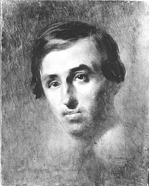 Портрет П. Куліша створений Т. Шевченком