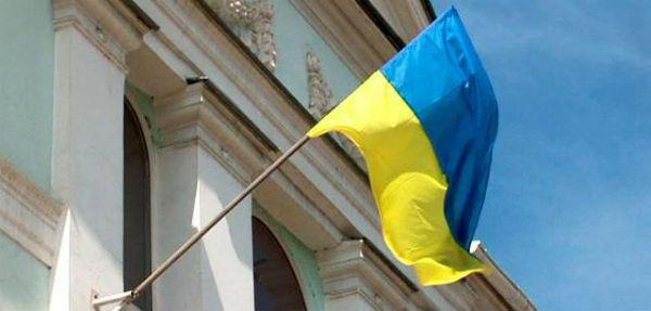 Державний прапор України - на приміщенні Меджлісу