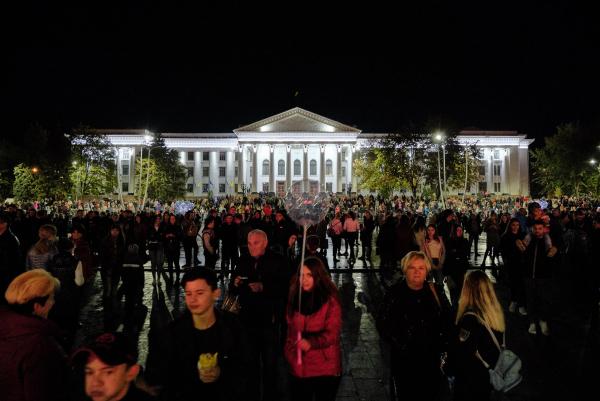 ONUKA дала концерт на Донбасі