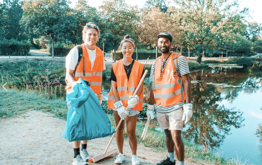безкоштовні екскурсії на прибирання парку