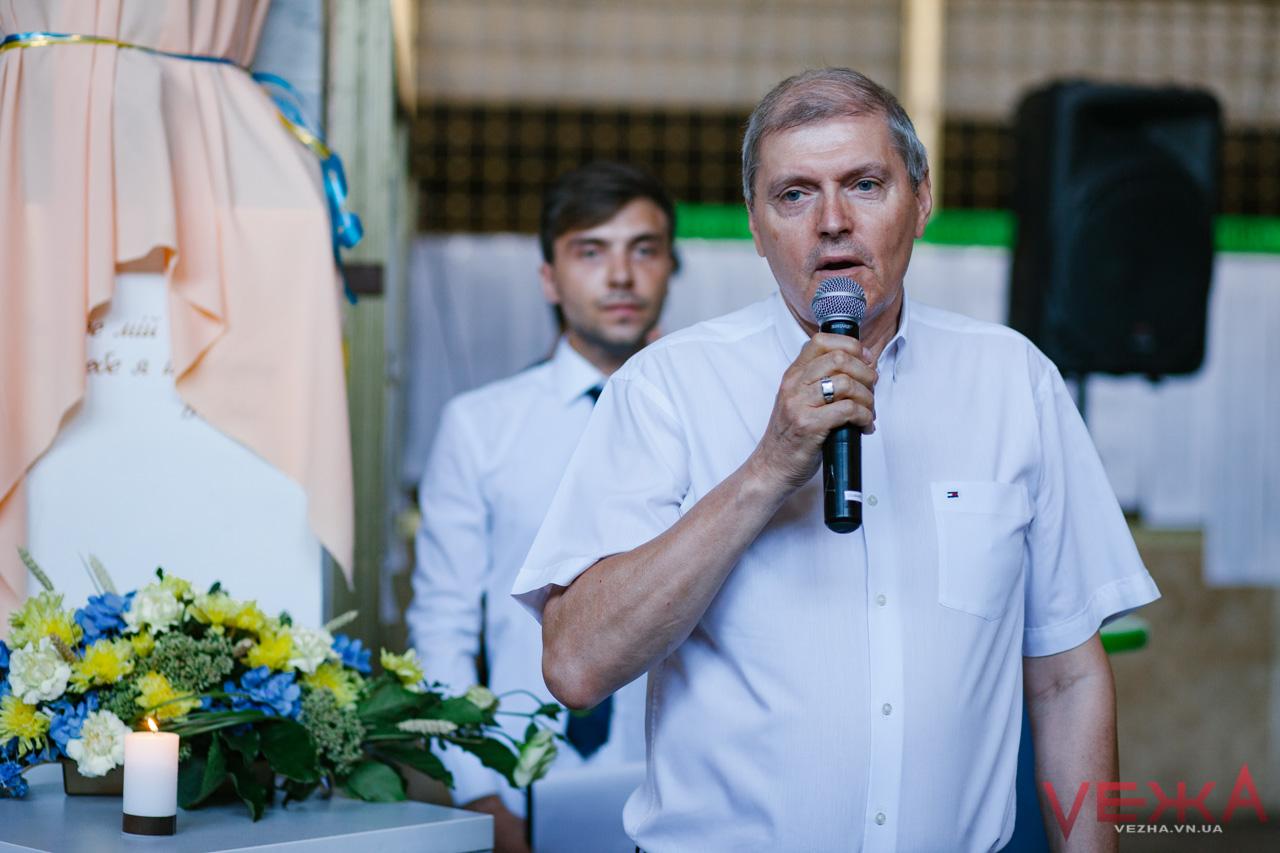 Погруддя Стуса відкрили у ДонНУ у Вінниці Гринюк
