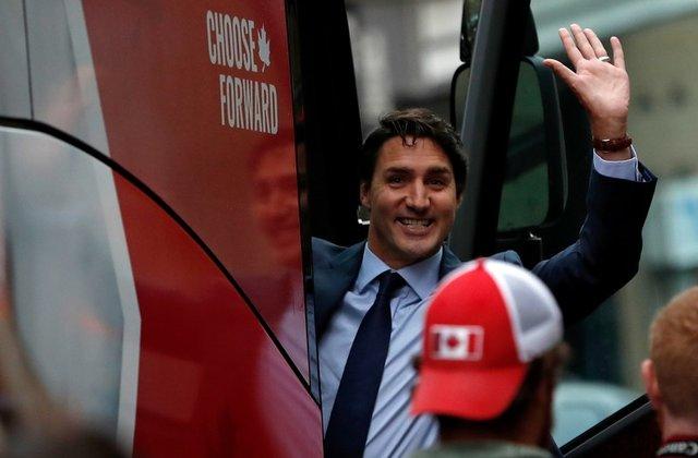 вибори канада трюдо