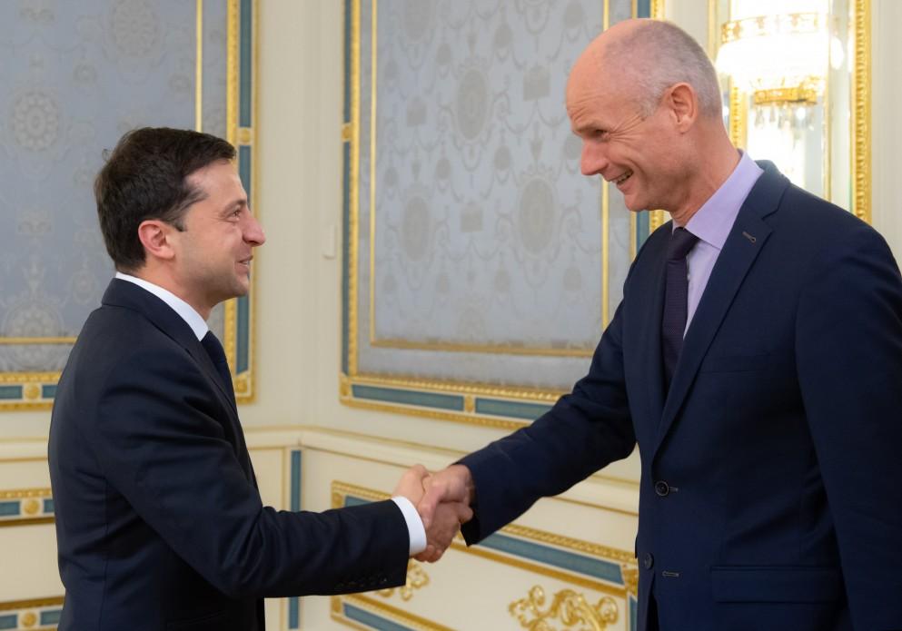 Президент України зустрівся з міністром закордонних справ Нідерландів