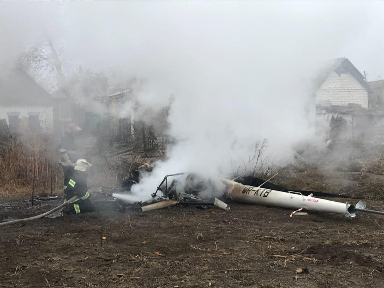 У катастрофі вертольота в Полтавській області загинув екс-міністр Кутовий