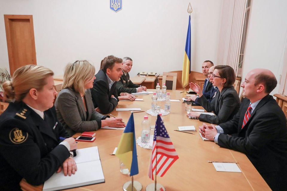 Україна та США
