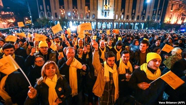 Тбілісі протести