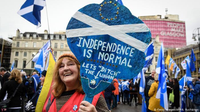 У Глазго 20 тисяч демонстрантів вимагали незалежності Шотландії