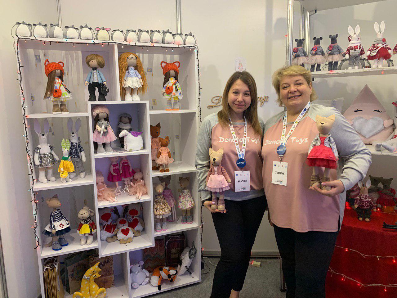 Denata Toys: як мама та донька з Ясинуватої роблять портретні ляльки
