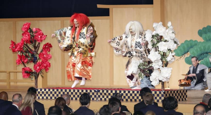 В Токио по случаю интронизации императора Нарухито проходит праздничный фестиваль