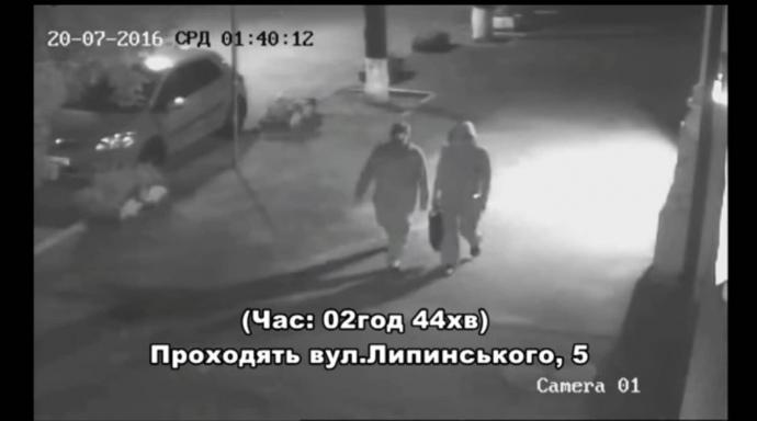 Чоловік і жінка, які заклали вибухівку під автівку Шеремета